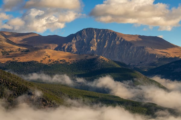 Photo of Mount Chapin, Mummy Range Rocky Mountain National Park Colorado