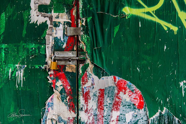 Sealed Green Photography Art | cosimo scianna