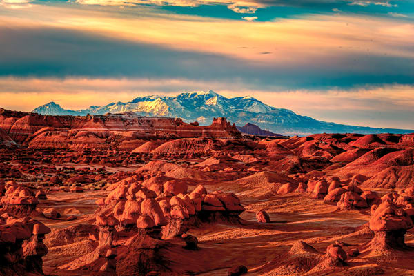 Desert Sunrise Goblin Valley State Park
