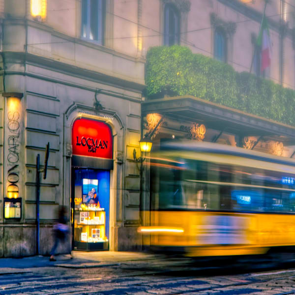 Milan Streetcar Photography Art | FocusPro Services, Inc.