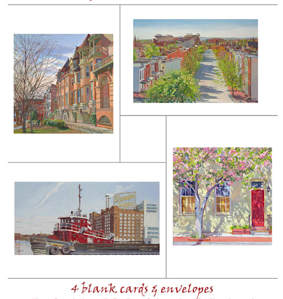 Baltimore Note Cards
