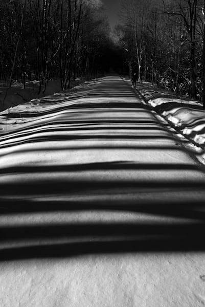 Ghost Town Trail Shadows Art | Brandon Hirt Photo