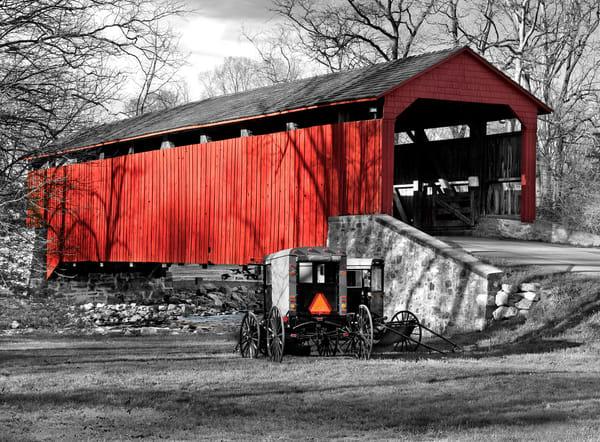 Poole Forge Covered Bridge Photography Art by artbysmiths.com