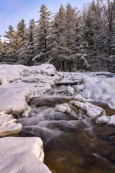Winter Morning at Jackson Falls | Shop Photography by Rick Berk