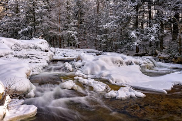 Wildcat Brook on a Winter Morn | Shop Photography by Rick Berk