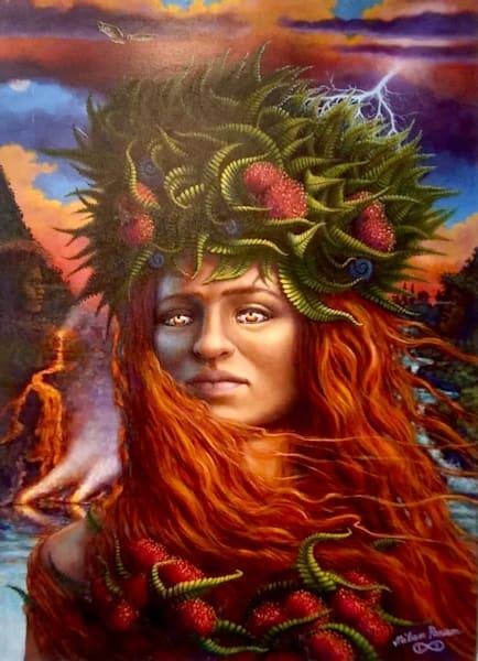 Lahaina Art Gallery features Mystical Artist Milan Param
