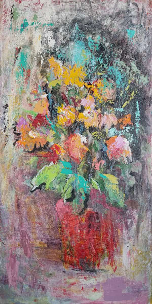 Flower Orchestra Art | Carla Dreams
