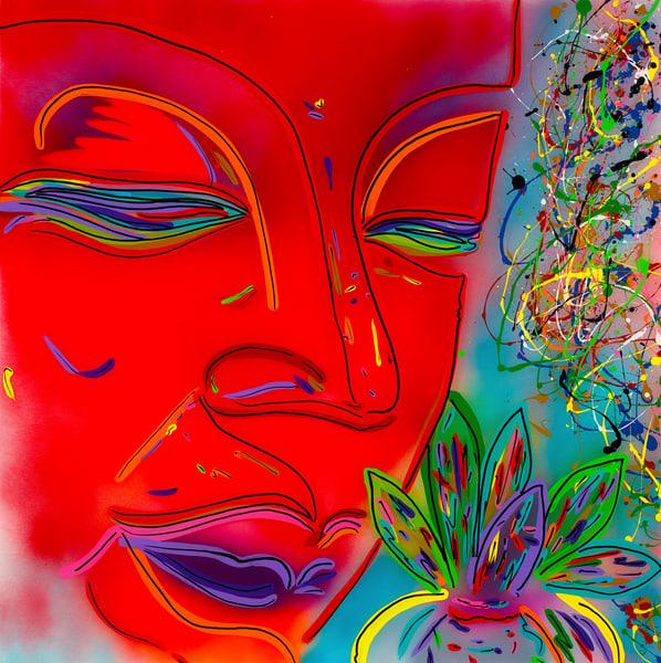 Balance Of Mind   Spiritual Art   JD Shultz Art