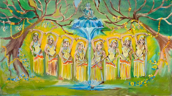 The Ritual   Spiritual Art   JD Shultz Art