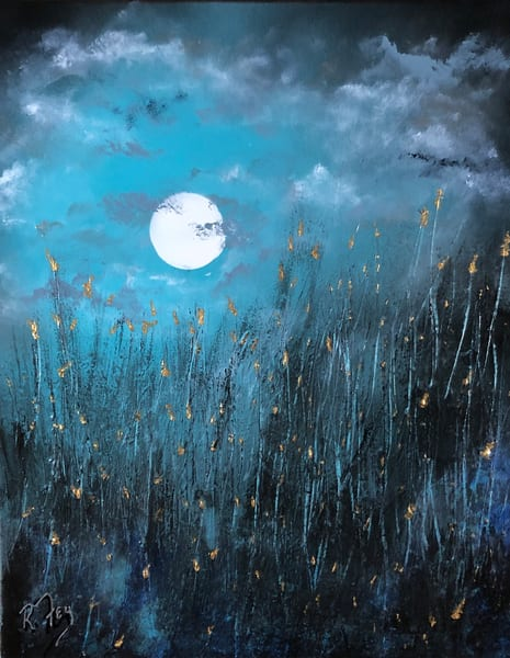 Blue Moon Art   House of Fey Art