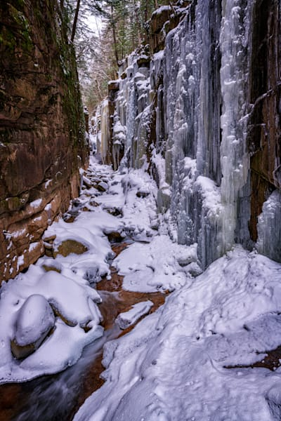 Winter In Flume Gorge | Shop Photography by Rick Berk