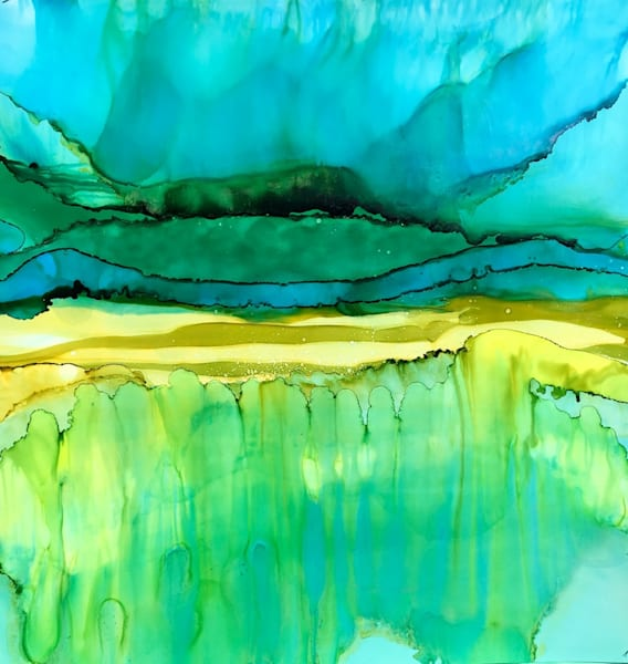 Partial Nightfall At The Dunes Art | Sandy Smith Gerding Artwork