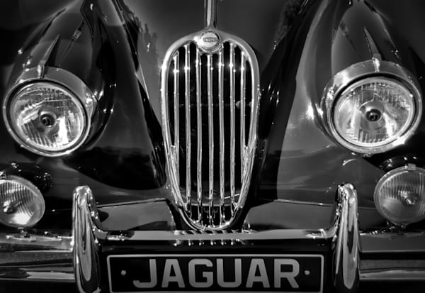 Old Jag Grille Photography Art | Kathleen Messmer Photography