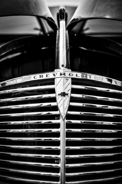Chevy Grill 2 Photography Art   Kathleen Messmer Photography