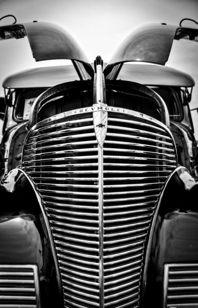 Chevy Grill Photography Art   Kathleen Messmer Photography
