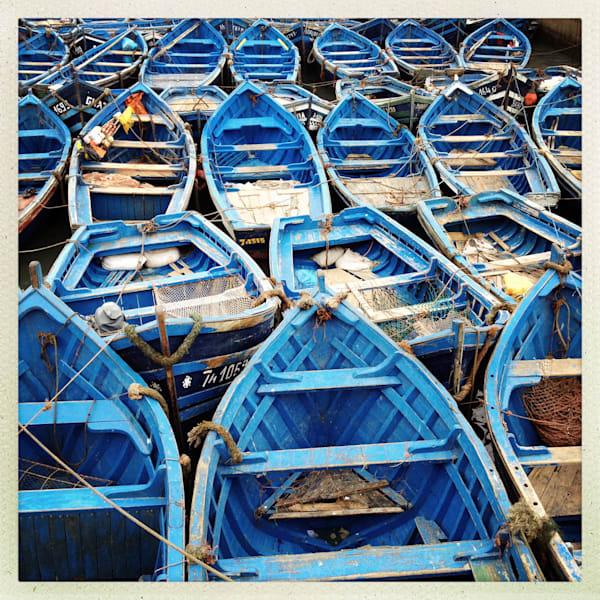 Fishing Boats, Essaouira Art   photographicsart