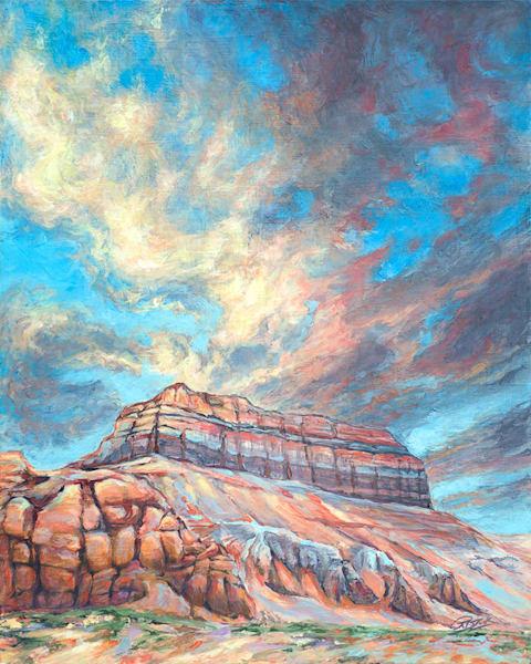 Wild Horse Butte (Utah) Art | Rebecca Zook Creative Studio