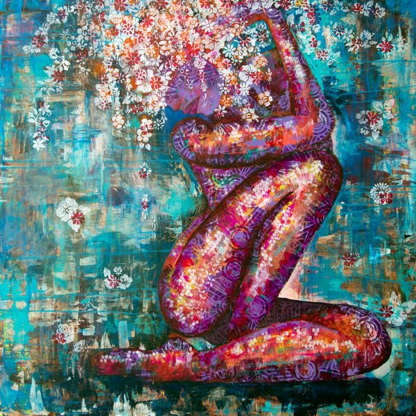 Fire Woman Art | Becka Watkins Art