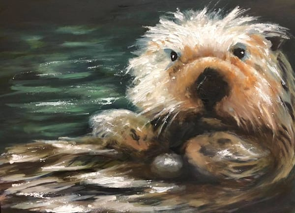 Name This Otter Painting