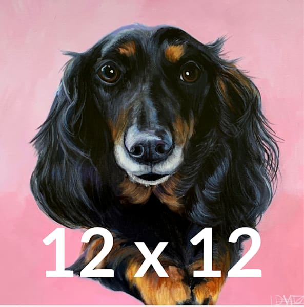 DOG A DAY - 12 X 12 - $350 (reg  price $475)