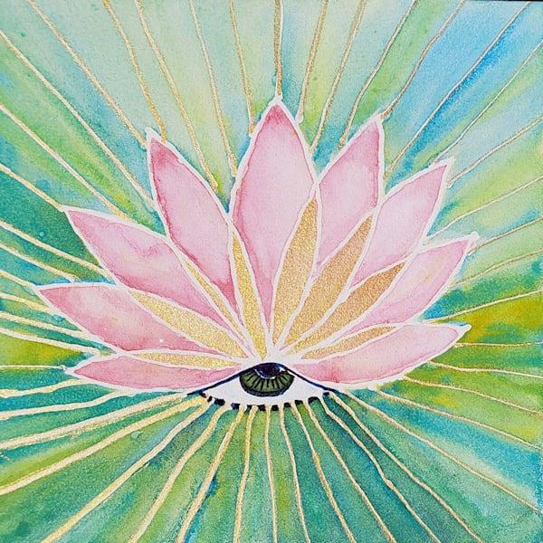 Eye Of Enlightenment Art | Bright Spirit Studio