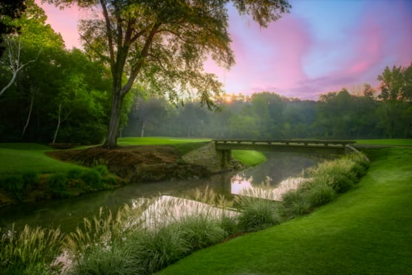 8th Hole, Augusta Country Club, Augusta, Georgia Photography Art | Dave Sansom Photography LLC