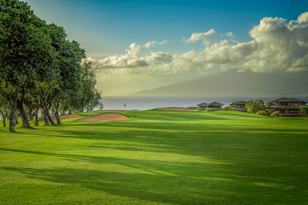 2nd Hole, Bay Course, Kapalua, Lahaina, Hawaii