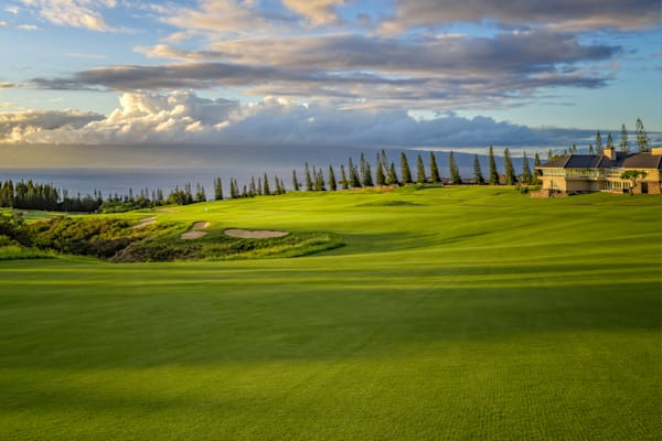 18th Hole, Plantation Course, Kapalua, Lahaina, Hawaii