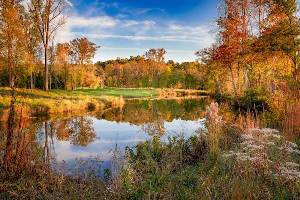 5th Hole, Settindown Creek, Ansley Golf Club