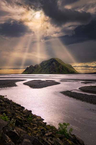 Stóra Dimon Mountain, Southern Region Of Iceland Photography Art | Dave Sansom Photography LLC