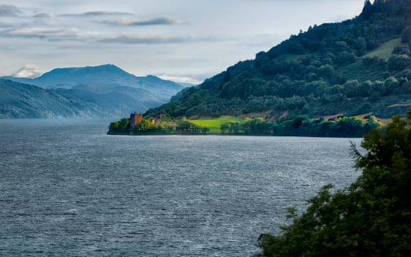 Urquhart Castle, On The Shores of Loch Ness, Scotland