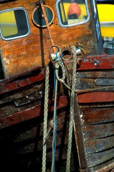 Weathered Boat Bow, Port Askaig, Islay, Scotland