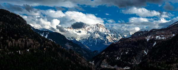 Photograph of the Italian Dolomites Panorama