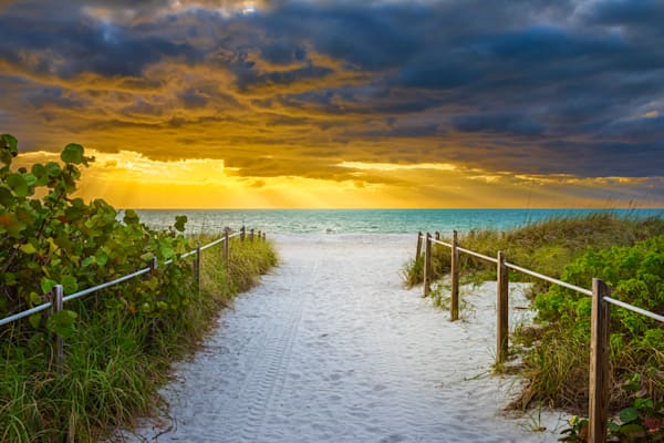 Beach Access, Bill Baggs Cape Florida State Park, Key Biscayne, Florida Photography Art | Dave Sansom Photography LLC