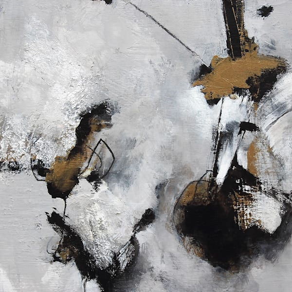 """Synapse Amiss"" abstract painting by Canadian artist Marianne Morris"