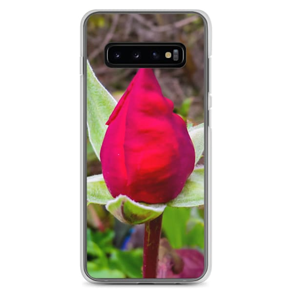 """""""O, My Love Is Like A Red, Red Rose"""" Samsung Case 