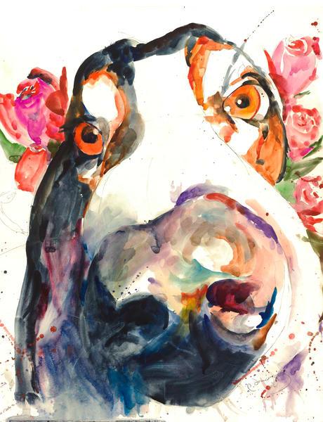 Nosey Rosey Art | Patrick Dominguez Art