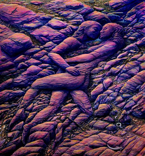 Desert Life Canvas Giclee Art | markhensonart