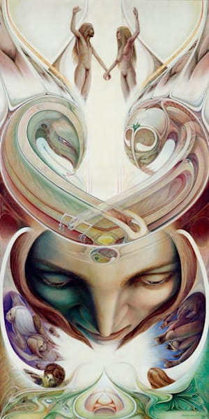 Dualities canvas giclee