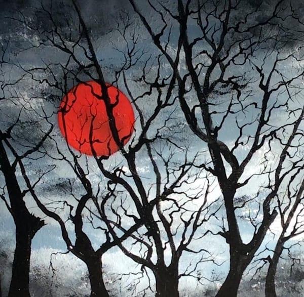Blood Moon Art | House of Fey Art