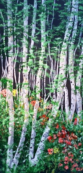 Aspen Forest Art | House of Fey Art