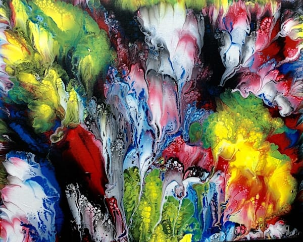 Bursts Of Color Art | House of Fey Art