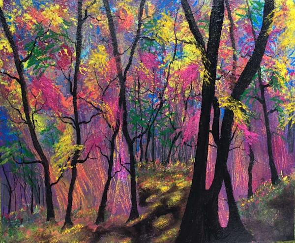 Fantasy Forest 2 Art | House of Fey Art