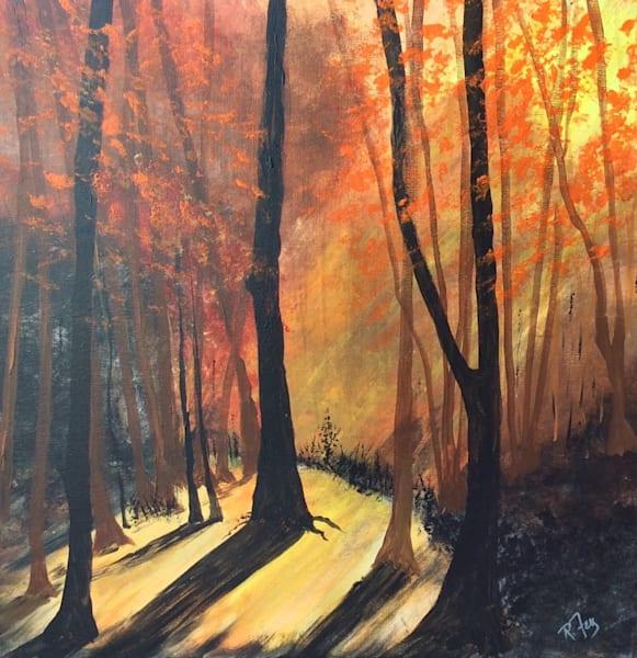Filtered Light In Forest Art | House of Fey Art