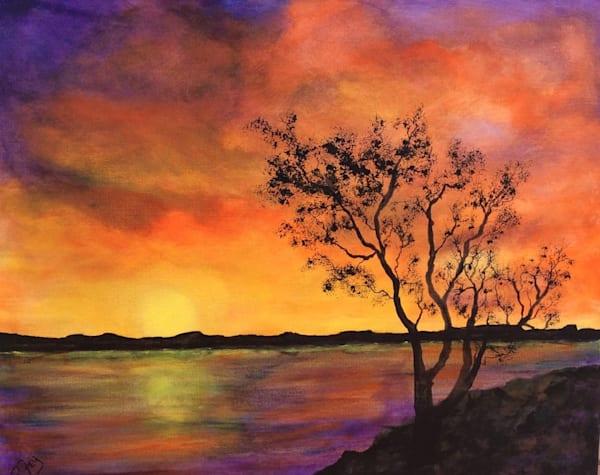 Sunrise At The Lake Art | House of Fey Art