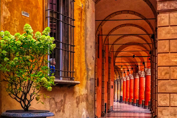 Bologna Hallway Photography Art | FocusPro Services, Inc.