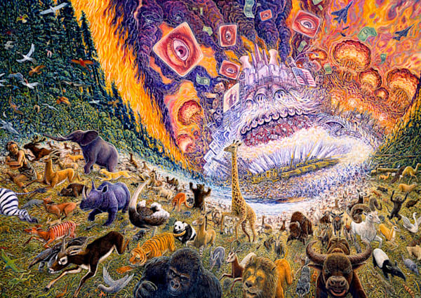 March of Progress giclee from the original oil painting by Mark Henson