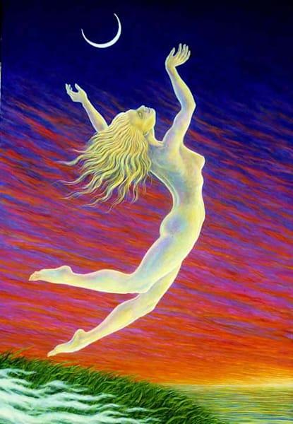 Moondancer Canvas Giclee Art   markhensonart