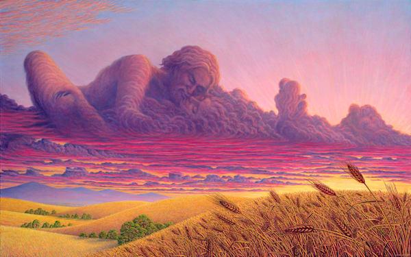 Nubial Bliss Giclee   markhensonart