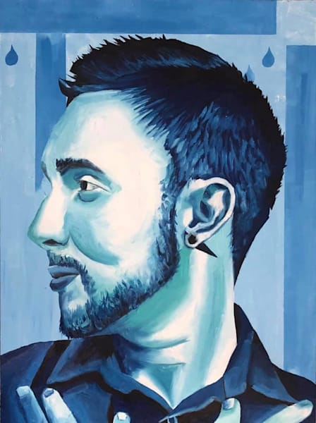 Braz In Blue by Alexander Califournia